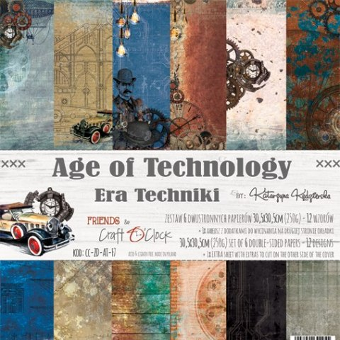 Age of Technology - paper set 30,5x30,5cm