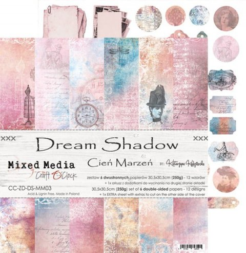 DREAM SHADOW - a set of papers 30,5x30,5cm