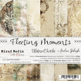 FLEETING MOMENTS - a set of papers 15,25x15,25cm