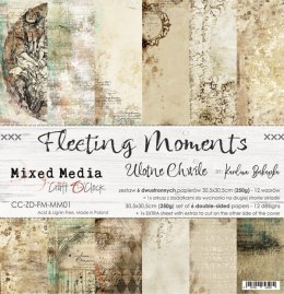 FLEETING MOMENTS - a set of papers 30,5x30,5cm
