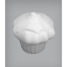 Muffin with icingicing, 10x8cm