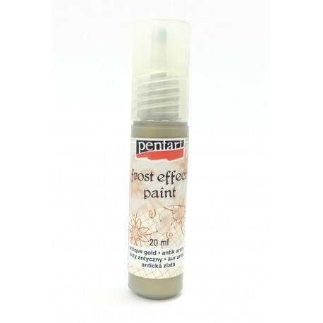 PENTART- FROST EFFECT PAINT 20 ml ANTIQUE GOLD