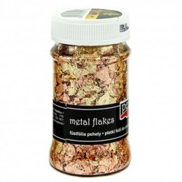 PENTART-Metal flakes 100ml gold/copper
