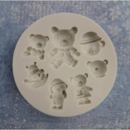 Silicone mold - Pentart - little bears