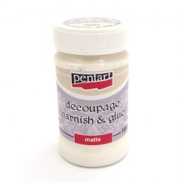 PENTART-DECOUPAGE VARNISH AND GLUE 100ml - MATTE