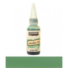 PENTART- MEDIA INK GRAPE LEAF 20 ml