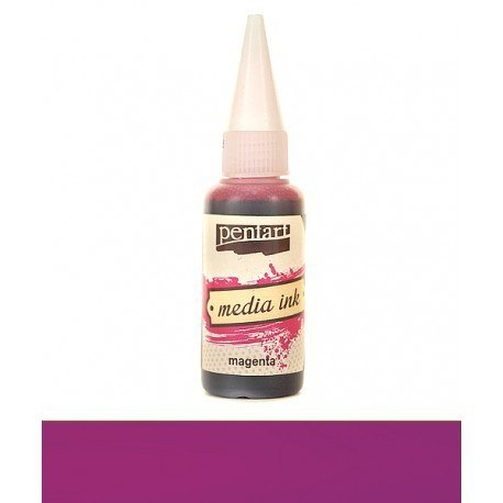 PENTART MEDIA INK 20 ml MAGNETA