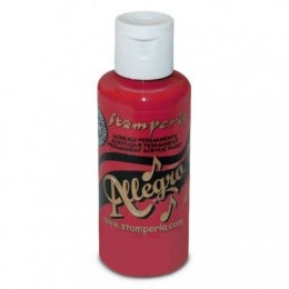 Stamperia - Allegro Acrylic Paint 59ml - red