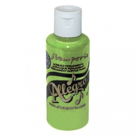 Stamperia - Allegro Acrylic Paint 59ml - light green