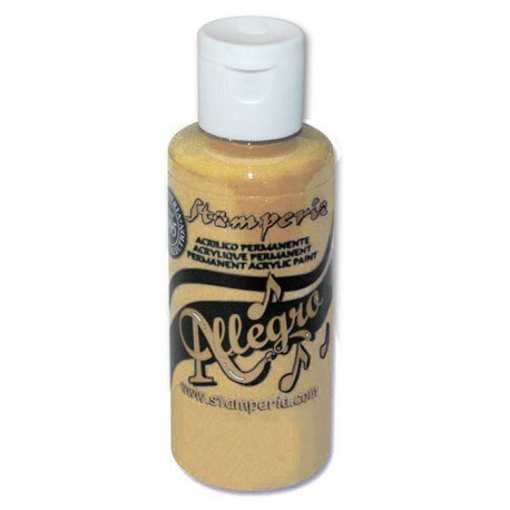 Stamperia - Allegro Acrylic Paint 59ml - fudge