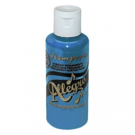 Stamperia - Allegro Acrylic Paint 59ml - blue ocean