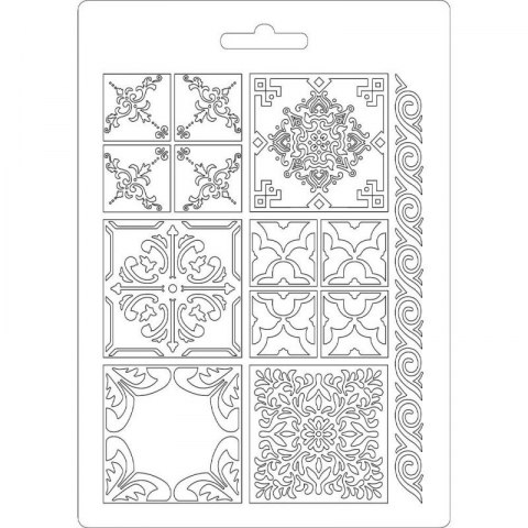 STAMPERIA-TEXTURE IMPRESSION - MODELLING MOULD 14,8X21 CM - AZULEJOS
