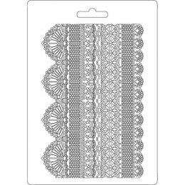STAMPERIA-TEXTURE IMPRESSION - MODELLING MOULD 14,8X21 CM - LACES