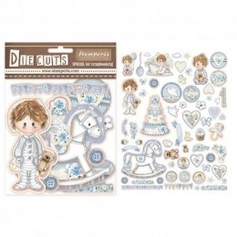 STAMPERIA- DIE CUTS - LITTLE BOY
