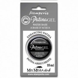 STAMPERIA PATINA GEL 25ml ANTHRACITE