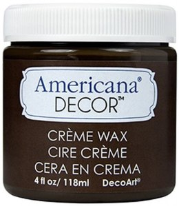 Americana Decor Creme Wax Deep Brown 236ml