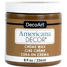 Kremowy Wosk - złoty brąz - Americana Decor Creme Wax Golden Brown 236ml