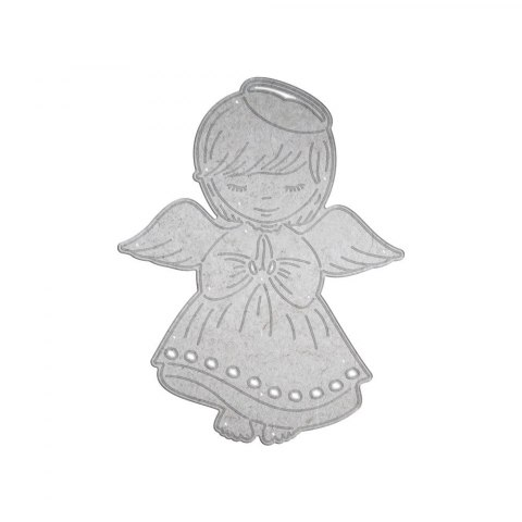 CUTTING DIE - LITTLE ANGLE GIRL 7,4 CM X 9,5 CM