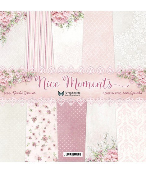 Nice Moments - 12x12 paper set