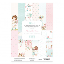Creative paper pad - Marisella&Me - 20 sheets - Dp Craft