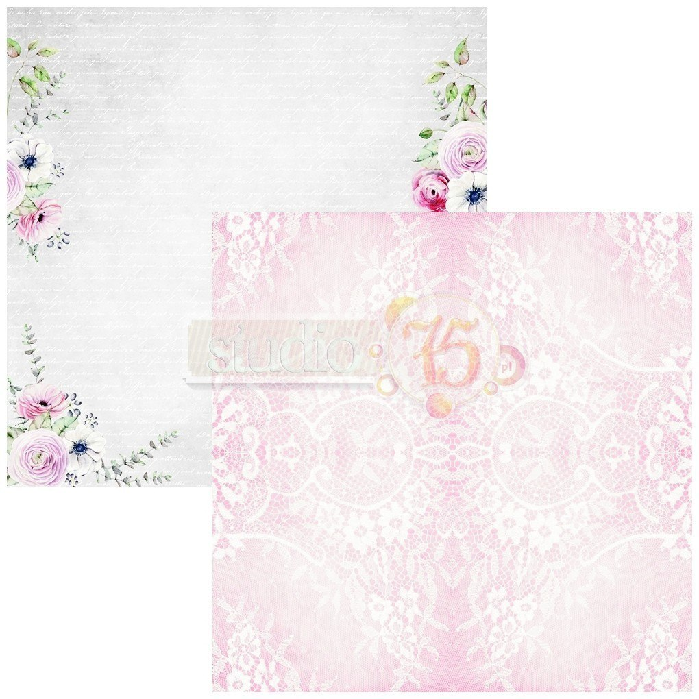 Scrapbooking paper from colecction Lovely Day