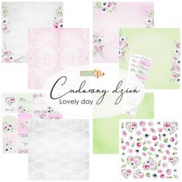 Lovely day scrapbooking set - 5 pcs