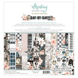 Lady scrapbooking paper set ,12 pcs