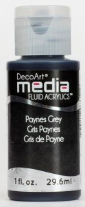 Fluid Acrylics DecoArt Media - Paynes Grey