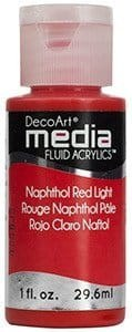 Fluid Acrylics DecoArt Media - Naphthol Red Light