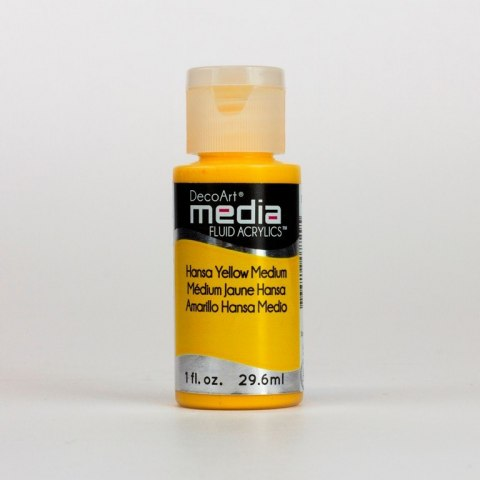 Fluid Acrylics DecoArt Media - Hansa Yellow Medium