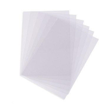 SHRINK PLASTIC FOIL, TRANSPARENT,1 piece