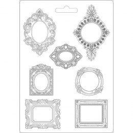 Soft Silicone mold - decorative frames - Stamperia - 21x29,7 cm