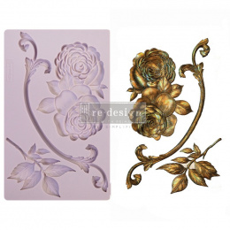 Silicone mould - Wilderness Rose -Prima Marketing - 20x13 cm