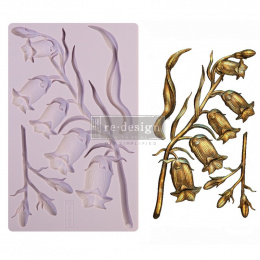 Silicone mould - BellFlowers -Prima Marketing - 20x13 cm