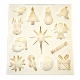 Silicone mould - Christmas- Pentart