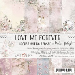Love Me Forever 6x6 paper set