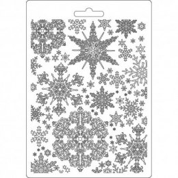 Modelling mould - Texture Impression - Stamperia - Snowflakes