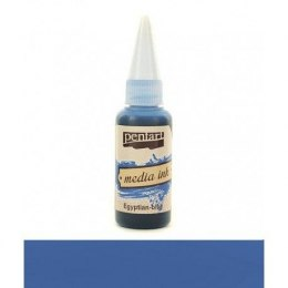 PENTART MEDIA INK 20 ml EGYPTIAN BLUE