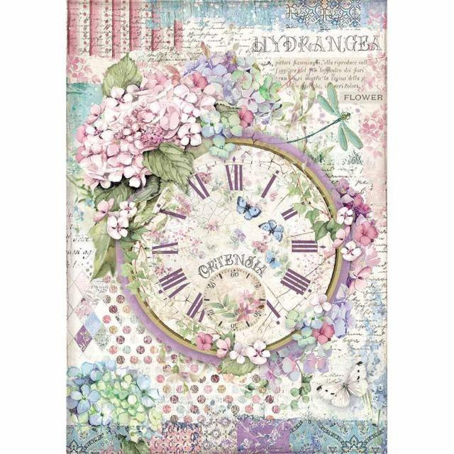 Decoupage rice paper- Winter tales fair - Stamperia