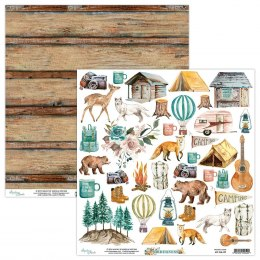 Wilderness - scrapbooking paper cut outs