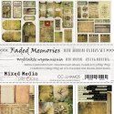 Scrapbooking paper  Faded Memories with elements for  cutinng