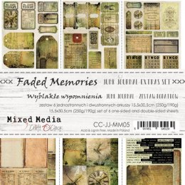 Scrapbooking papers - elements for cutting-Junk Journal -Faded Memories