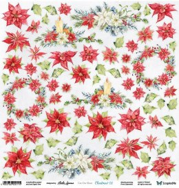 Christmas twigs scrapbooking paper for cutting - Scrap and Me