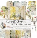 Scrapbooking paper pad - 12x12 - Summer Charm - Craft o`clock