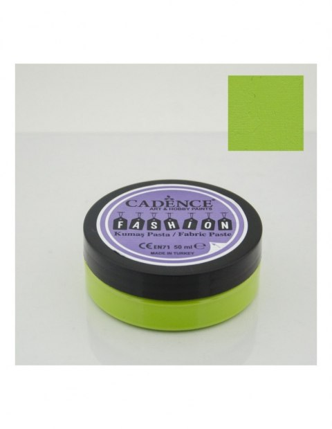 Pistachio green fabric Paste CADENCE FASHION, 50ml