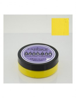 Lemon yellow Fabric Paste CADENCE FASHION, 50ml