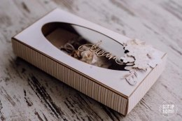 DL craft box open oval 22x11x4cm