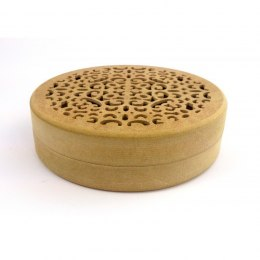 Round box with lace bottom - 19 cm