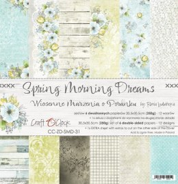 SPRING MORNING DREAMS - 12x12 paper set