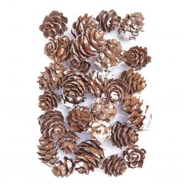 Mini pinecones for Christmas decor and scrapbooking